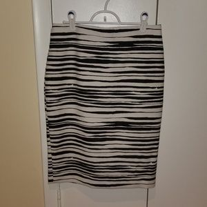 PRICEDROP!! NWOT Ann Taylor Zebra Pencil Skirt